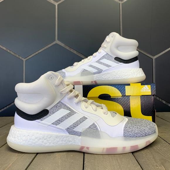 Adidas Marquee Boost Footwear White Baasketball